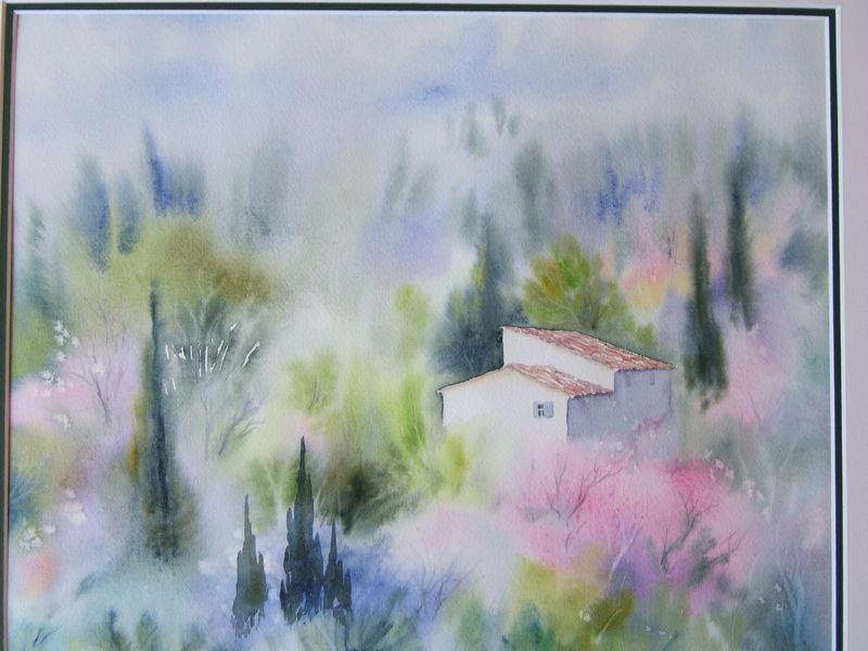 Impression Provençale (30x40) VENDU