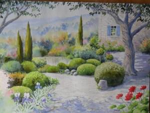 Rêve de jardin (33 x 55 cm)