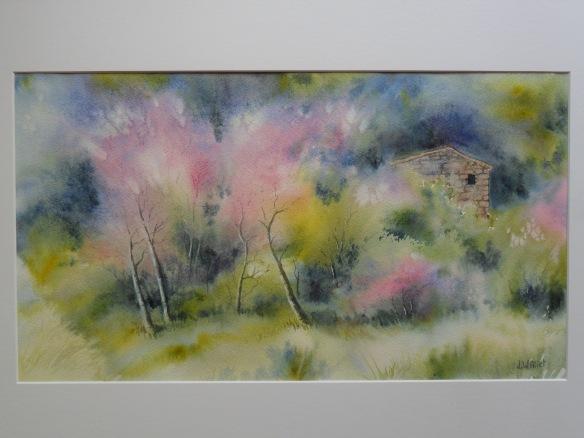 Les arbres de Judée (30 x 55 cm)