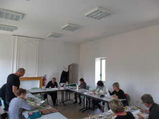 cours d'aquarelle à Velleron