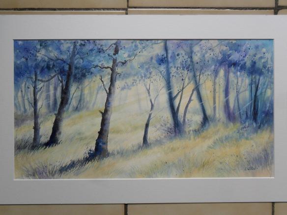 Lumière dans la forêt - J  Williet