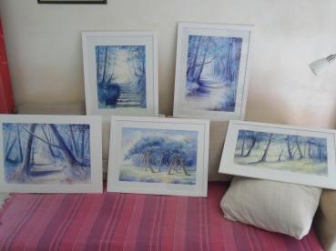 Ma série des forêts bleues