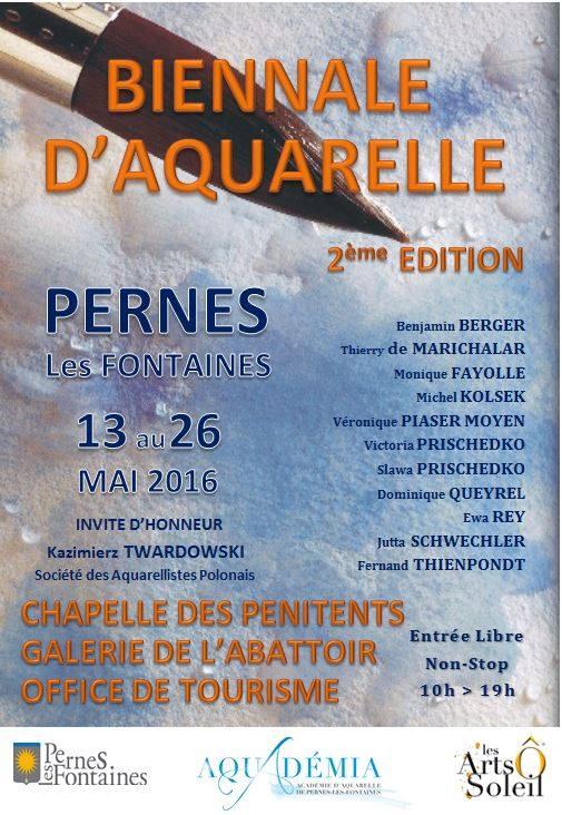 affiche biennale Pernes