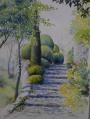 L'escalier aux buis