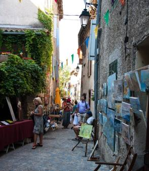 peintres dans la rue