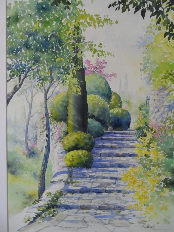 L'escalier aux buis 2