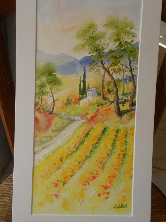 Chatoiement d'automne (20 x 50 cm)