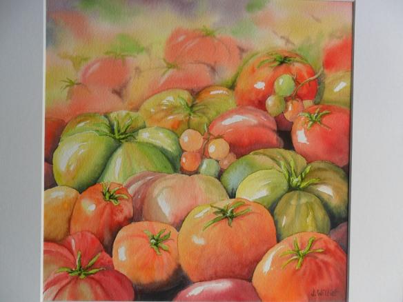 Concentré de tomates (30 x 30 cm)