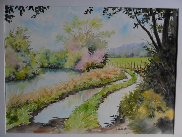 Après la pluie (35 x 45 cm)