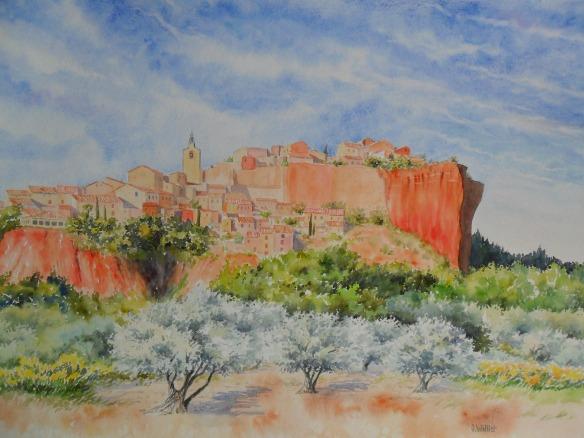 Roussillon (45 x 60 cm)