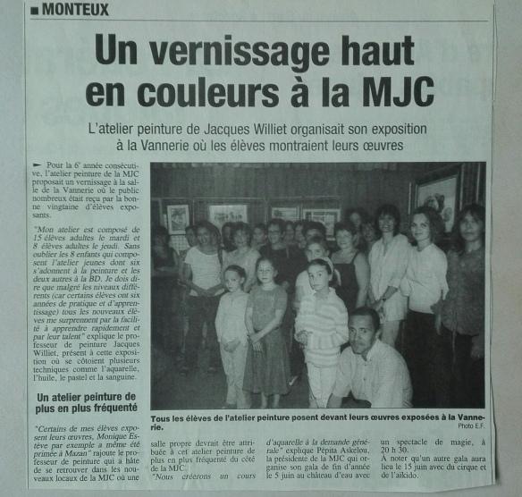article mjc Monteux