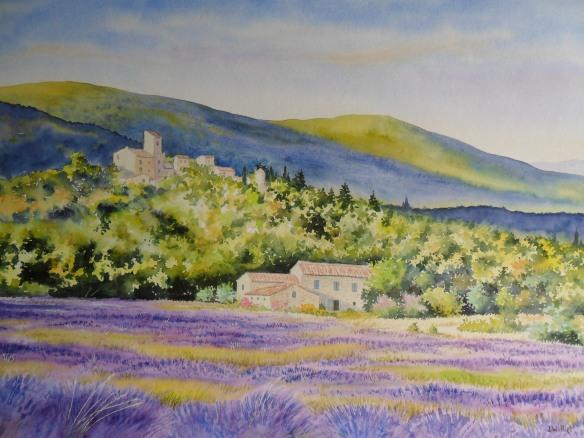 Provence des lavandes (45 x 65 cm)