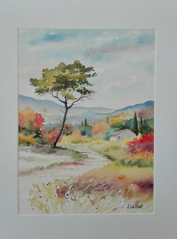 Promenade d'automne vers Aix