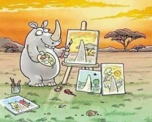 vision personnelle du peintre