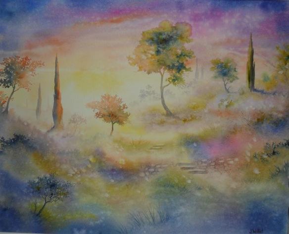 Vision of Paradise (47 x 60 cm)