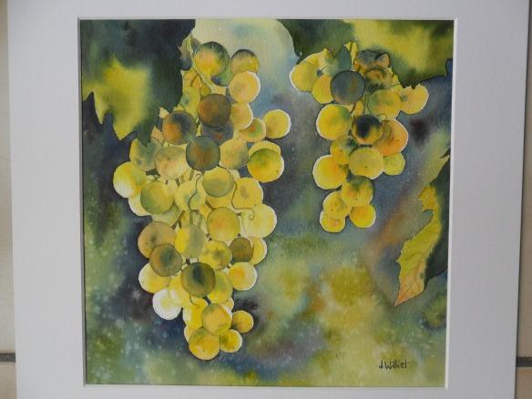 raisins de lumière (30 x 30 cm)