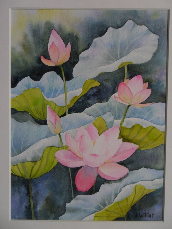 Fleurs de Lotus (20 x 30 cm)