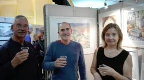 Avec Alain Bidault et Lessia Scafi