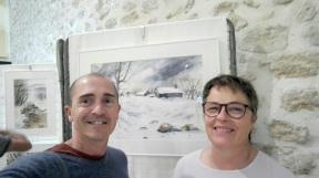 avec Françoise Delpuech