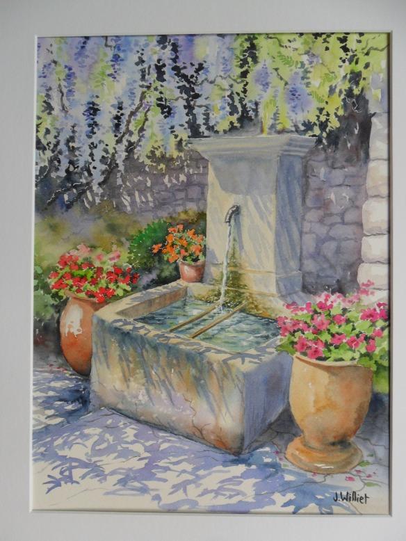 Fontaine de La Roque (30 x 40 cm)