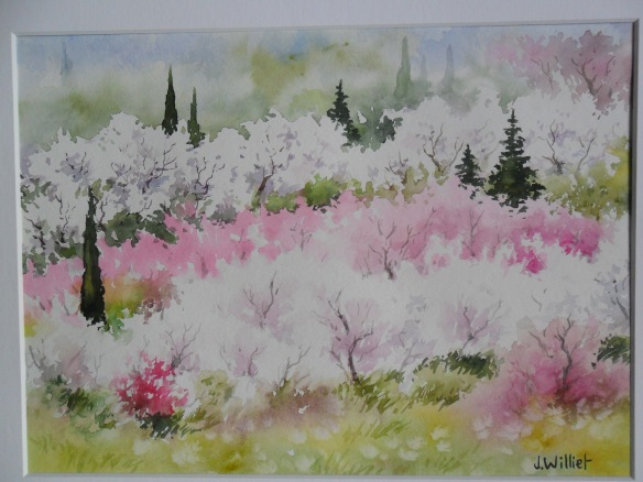 Fleurissements du printemps (22 x 30 cm)