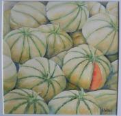 Les melons (30 x 30 cm)