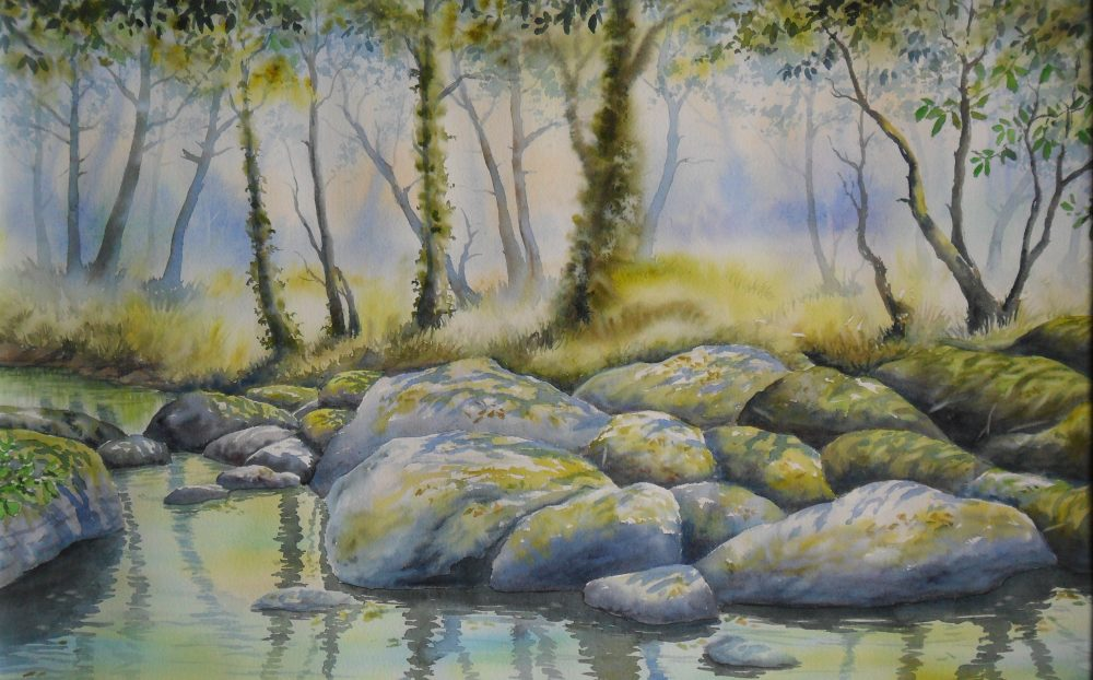 Jacques Williet  –  Aquarelliste