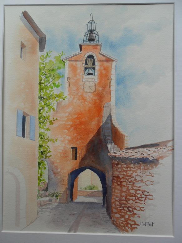 Le beffroi de Roussillon