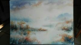 Rêve de brume (35 x 45 cm)