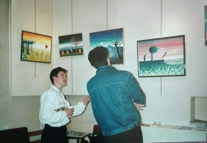 Expo à Lyon en 91