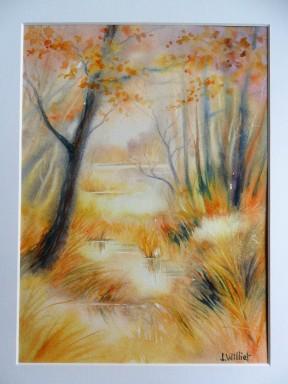 Impression d'automne (22 x 30 cm)